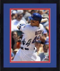 """Framed Anthony Rizzo Chicago Cubs Autographed 8"""" x 10"""" Close-Up Photograph"""