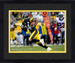 "Framed Antonio Brown Pittsburgh Steelers Autographed 16"" x 20"" vs. Buffalo Bills Photograph"