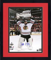 """Framed Antti Niemi Chicago Blackhawks 2010 Stanley Cup Autographed 16"""" x 20"""" Photograph"""
