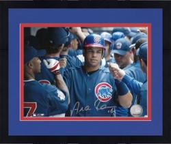 "Framed Aramis Ramirez Chicago Cubs Autographed 8"" x 10"" Dugout Photograph"