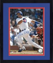 Framed Aramis Ramirez Chicago Cubs Autographed 8'' x 10'' Looking For Ball Photograph