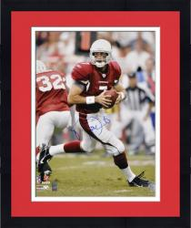 Framed Arizona Cardinals Matt Leinart Signed 16'' x 20'' Photo -