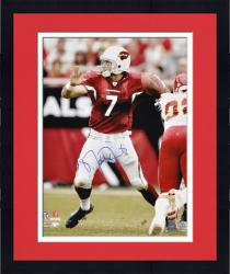 Framed Arizona Cardinals Matt Leinart Signed 16'' x 20'' Photo