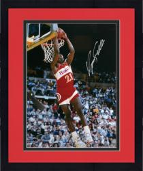 "Framed Atlanta Hawks Dominique Wilkins Autographed 16"" x 20"" Photo"