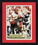 Framed Autographed Brad Johnson Photograph - Washington Redskins 16x20 Mounted Memories