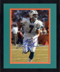 Framed Autographed Chad Henne Picture - Miami Dolphins 8x10 Mounted Memories
