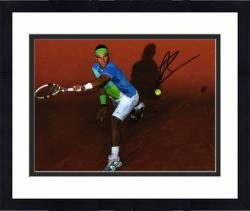 "Framed Rafael Nadal Autographed 8"" x 10"" Multicolor Shirt Photograph"
