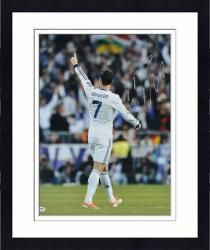 "Framed Cristiano Ronaldo Real Madrid Autographed 16"" x 20"" Back Shot Photograph"