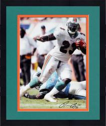 Framed Autographed Ronnie Brown Picture - 8x10 Mounted Memories