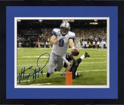 Framed Autographed Stafford Photo - 8x10 Mounted Memories