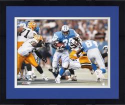 Framed Barry Sanders Detroit Lions Autographed 16'' x 20'' vs Green Bay Packers Photograph