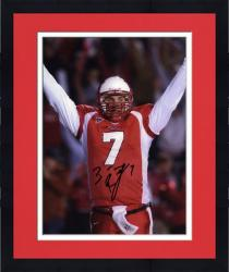 Framed Ben Roethlisberger Miami University RedHawks 8'' x 10'' Arms in Air Autographed Photograph