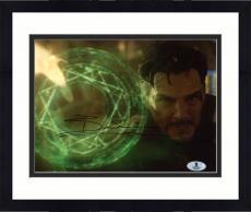 "Framed Benedict Cumberbatch Autographed 8"" x 10"" Doctor Strange Photograph - Beckett COA"