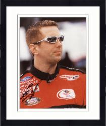 Framed Greg Biffle Autographed 8'' x 10'' Grainger Side View Photograph