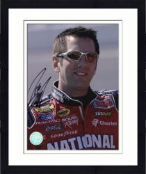 Framed BIFFLE, GREG AUTO (GRAINGER/SMILING) 8X10 PHOTO - Mounted Memories
