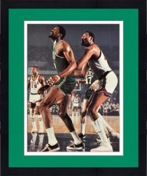 "Framed Bill Russell Boston Celtics Autographed 16"" x 20"" vs. Philadelphia 76ers Photograph"