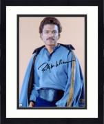 """Framed Billy Dee Williams Star Wars The Empire Strikes Back Autographed 8"""" x 10"""" Lando Photograph - Topps Authentic"""