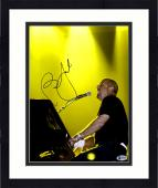 """Framed Billy Joel Autographed 11"""" x 14"""" Playing Piano & Singing Photograph - Beckett COA"""