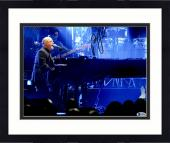 "Framed Billy Joel Autographed 11"" x 14"" Playing the Piano and Singing Band in the Background Photograph - Beckett COA"
