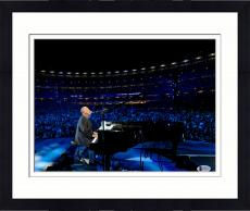 """Framed Billy Joel Autographed 11"""" x 14"""" Playing the Piano and Singing with Crowd in Background Photograph - Beckett COA"""