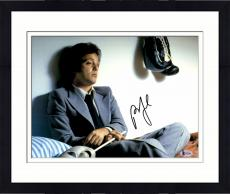 """Framed Billy Joel Autographed 11"""" x 14"""" The Stranger- Sitting in Bed with Boxing Gloves Photograph - Beckett COA"""