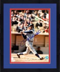 "Framed Billy Williams Chicago Cubs Autographed 8"" x 10"" Vertical Photograph"