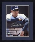 "Framed Bud Black San Diego Padres Autographed 8"" x 10"" Leaning Photograph"