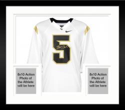 Framed Blake Bortles UCF Knights Autographed White Nike Jersey