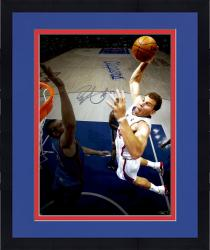 "Framed Blake Griffin Los Angeles Clippers Autographed 08"" x 10"" Dunk VS OKC Photograph"