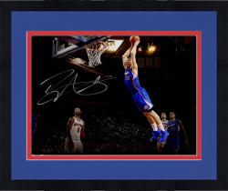 "Framed Blake Griffin Los Angeles Clippers Autographed 16"" x 20"" In Flight Photograph"