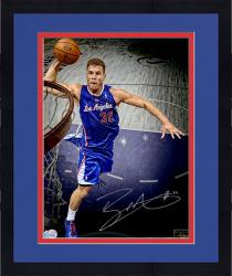 Framed Blake Griffin Los Angeles Clippers Autographed 16'' x 20'' Signature Slam Photograph