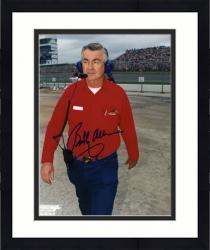 "Framed Bobby Allison Autographed 8"" x 10"" Standing Headset Photograph"