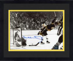 "Framed Bobby Orr Boston Bruins Autographed The Goal 8"" X 10"" Photo"