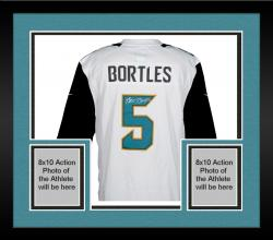 Framed Blake Bortles Signed Jersey - Mounted Memories