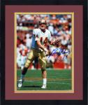 "Framed Brad Johnson Florida State Seminoles Autographed 8"" x 10"" Photograph"