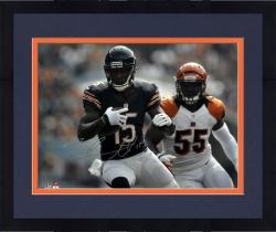 "Framed Brandon Marshall Chicago Bears Autographed 16"" x 20"" vs. Cincinnati Bengals Photograph"