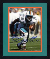 "Framed Brandon Marshall Miami Dolphins Autographed 8"" x 10"" Action Photograph"