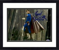 "Framed Brandon Routh Autographed 11"" x 14"" Superman Photograph with Best! Inscription - PSA/DNA"