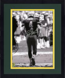 "Framed Brett Favre Green Bay Packers Autographed 8"" x 10"" The Tunnel Photograph"