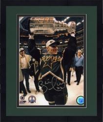 "Framed Brett Hull Dallas Stars Autographed 8"" x 10"" Photograph"
