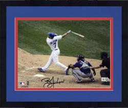 "Framed Brett Jackson Chicago Cubs Autographed 8"" x 10"" Photograph"
