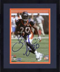 "Framed Brian Dawkins Denver Broncos Autographed 8"" x 10"" Running Photograph"