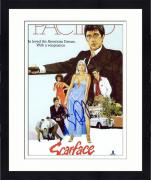 "Framed Brian DePalma Autographed 8"" x 10"" Scarface Cover Photograph - Beckett COA"