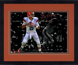 Framed Brian Hoyer Cleveland Browns Autographed 11'' x 14'' Spotlight Photograph