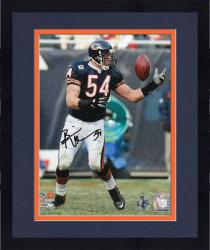 Framed Brian Urlacher Chicago Bears Autographed 8'' x 10'' Reach Back Photograph