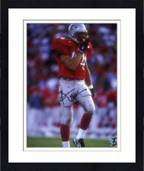 "Framed Brian Urlacher New Mexico Lobos Autographed 8"" x 10"" Photograph"