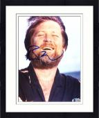 "Framed Brian Wilson Autographed 8""x 10"" The Beach Boys Laughing Photograph - Beckett COA"