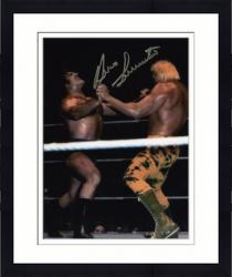 Framed Bruno Sammartino Autographed 8'' x 10'' Power Struggle Photograph