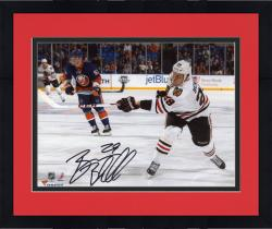 "Framed Bryan Bickell Chicago Blackhawks Autographed 8"" x 10"" White Uniform Shot Photograph"