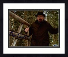 "Framed Bryan Cranston Autographed 8"" x 10"" Breaking Bad In Woods Photograph - Beckett COA"